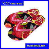 2016 PE Hot Printing Design Slippers for Women (GD1503-Rose)