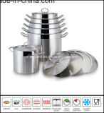 Stainless Steel Soup Pot Set
