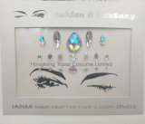 Festival Face Jewels Gem Party Bindi Body Jewelry Stickers Rhinestone Tattoo Temporary Face Stickers (S093)