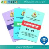Hot Selling 13.56MHz Ntag213 Plastic RFID Smart Contactless ID Cards