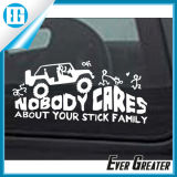 White Plotter Cut Vinyl Sticker Decals for Car Window