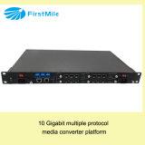 Carrier-Grade Manageable 3r Multiple Protocol Media Converter Platform