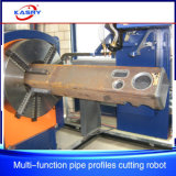 Steel Building Square/Hollow Section Round Pipe /Rectangular Tube CNC Flame Plasma Cutting Equipment
