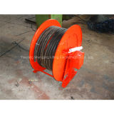 Spring Type Retractable of Steel Cable Reel