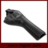 Army Force Leather Revolver Pistol Holster Long Style