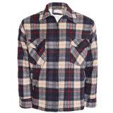 Men′s Sherpa Thick Lumberjack Warm Check Lined Padded Winter Shirt