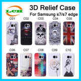 Creative 3D Bas Relief Hard PC Case for Samsung S7