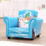 Blue Mermaid Kids Chair with Ottoman (SF-74)