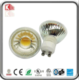 Glass Body COB GU10 LED 5W Spotlight Dimmable 110V/220V