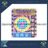 Custom High Quality Rainbow Effect Hologram Label Printing