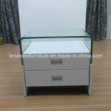 T43 Fancy Design Bedroom Glass Night Stand