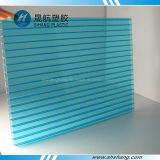 Lake Blue 6mm Plastic Polycarbonate Roof Plates with UV Coating