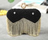 Noble Ladies Bag Pearl Fashion Clutch Bag and Evening Bag (XW0910)