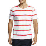 New Arrival Striped Men Printed Fashion T-Shirt (ZS-6038)