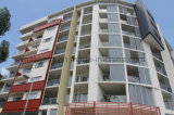 Painted Steel Construction Sun Block Screening Framework