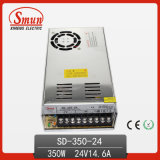 350W 24V 14.6A DC-DC Switching Power Supply with CE RoHS Approved and 2 Years Warranty