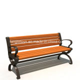 Park Bench, Picnic Table, Cast Iron Feet Wooden Bench, Park Furniture FT-Pb005