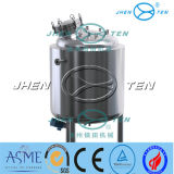 Hot / Cryogenic Storage Tank Stainless Steel Pressure Vessel Water Tank