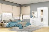 Modern High Gloss White Bedroom Set (HF-EY091)