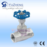 Ss304 Stainless Steel Globe Valve by Manual Operating