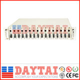 16 Ports Roak Mounted Converter Chassis for Media Use