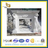 White Marble Fireplace, Marble Fireplace Surround