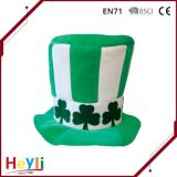 2016 New Design Green St. Patrick′s Day Top Party Hat