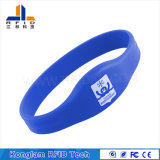 Closed-Loop Wrist Strap RFID Silicone Smart Wristband for Bathing Centers