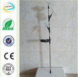 Flower&Bird Metal&Crystal Garden Yard Solar Light Stick