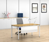 White Customized Metal Steel Office Staff Desk Frame with Ht81-1