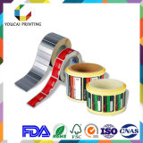 Printed Waterproof Self Adhesive PVC Label Sticker Film