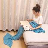 Sleeping Bag Mermaid Tail Crochet Blanket