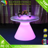Outdoor and Indoor Plastic LED Bar Furniture