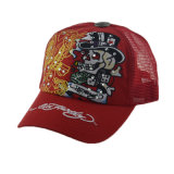 Leisure Hat Custom 5 Panel Snapback Trucker Hat with Embroidery