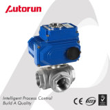 Wenzhou Supplier Automatic Valve Electrical Three Way Ball Valve