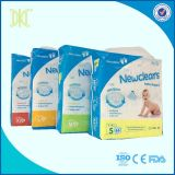 New Design OEM Brand Ultra Thin Baby Girl and Boy Disposable Diaper Economic Pack