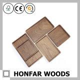 Rectangle Black Walnut Solid Wood Tray Wood Craft