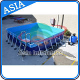 Above Ground Mobile Frame Swimming Pool / Steel Frame Swimming Pool