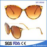 Demi Color Female Cat Eye Sunglasses with UV400 Lens