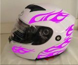 2017 New Double Visor Flip up Motor Helmet