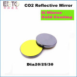 CO2 Laser Mirror with Si Material and Gold Coating 20/25/30 Dia