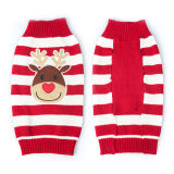 Christmas Pet Products Reindeer Knitting Dog Sweaters