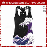 Customised Fashionable Cheap Activewear Tank Tops for Womens (ELTCI-64)