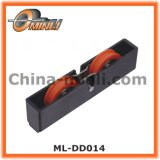 Plastic Bracket with Double Roller for Sliding Door and Window (ML-DD014)