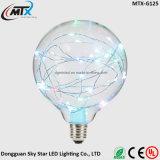 Copper Wire Colorful E27 G125 G95 G80 LED Light Bulb