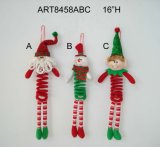 "16""H Spring Body Christmas Decoration Gift Toy-3asst"