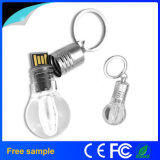 Light Bulb Pen Drive Crystal USB Flash Drive Free Sample