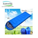 Blue Color Sleeping Bag with Cap