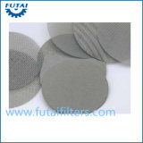 Stainless Steel Sintered Wire Mesh Disc Filter