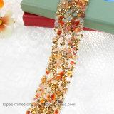 Heat Transfer Adhesive Diamond Rhinestone Sticker for Shoes Garments Wedding Dress (TS-041)
